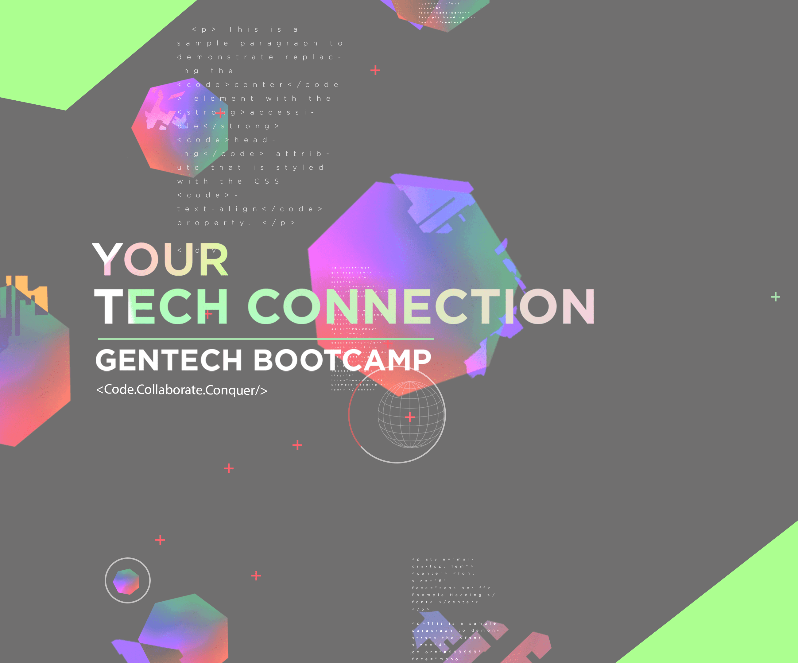 Your Tech Connection Gentech Bootcamp
