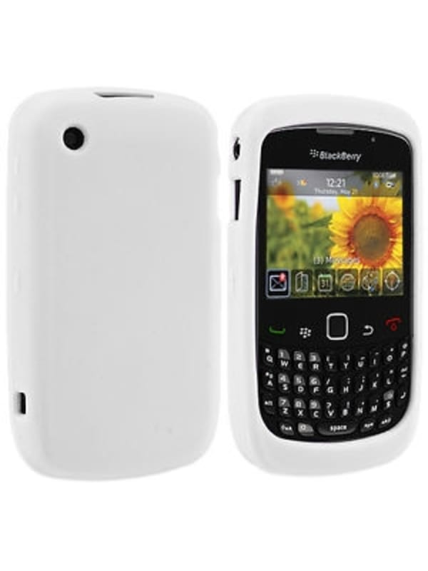 BlackBerry Skin 2.46'' Cover case voor Curve 8520 8530 9300 9330 - Wit