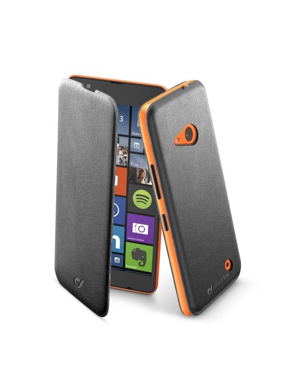 Cellularline Book Slim Folioblad Microsoft Lumia 640 - Zwart