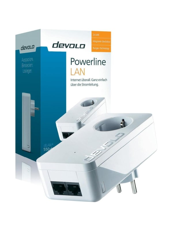 Devolo dLAN 550 Duo+ - Powerline - Uitbreiding - NL