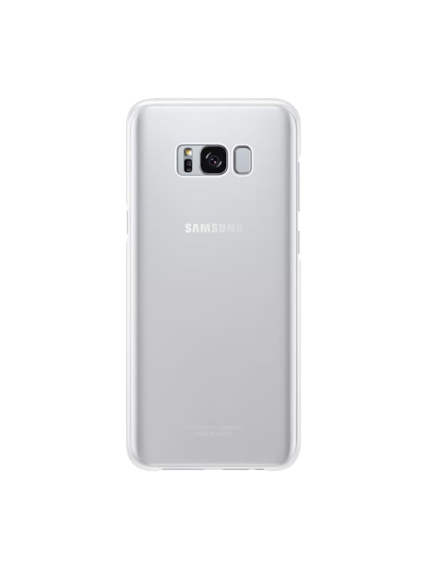 Samsung S8 Clear Cover - Zilver