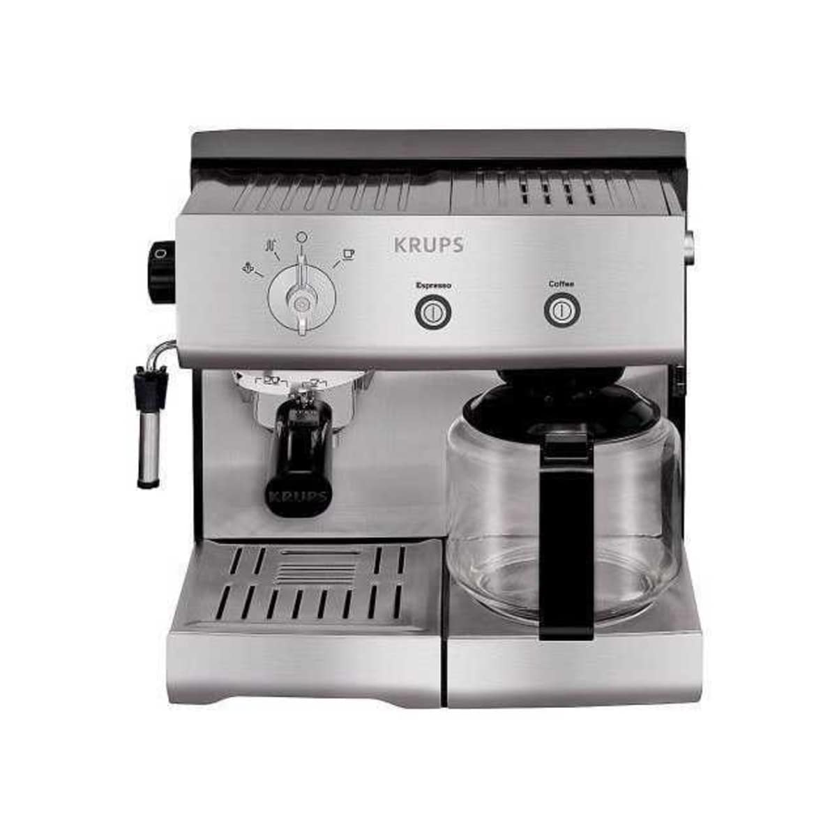 how to use krups steam espresso machine
