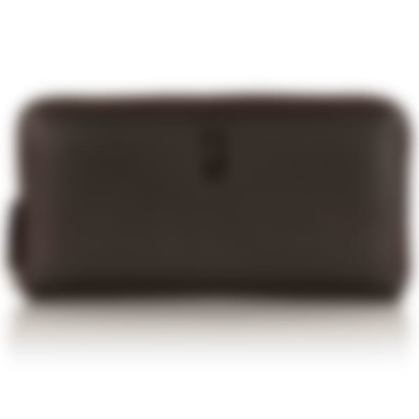 Malvern leather zip wallet
