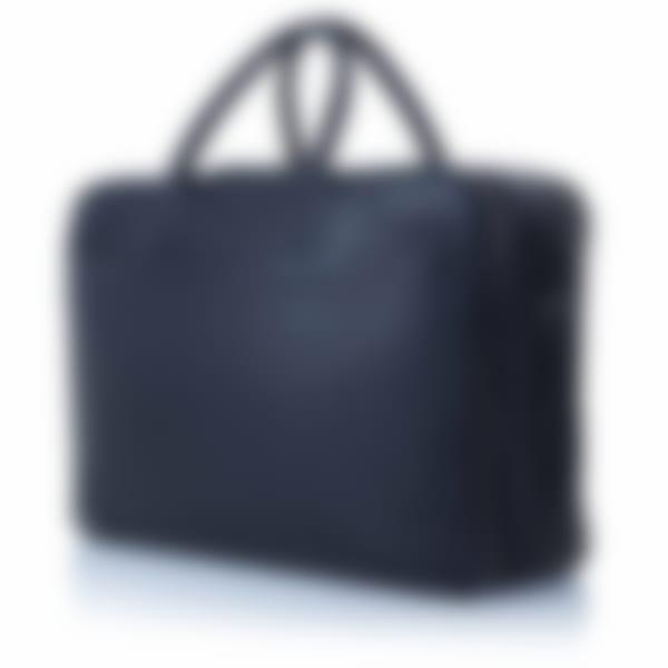 Richmond leather overnight briefcase side