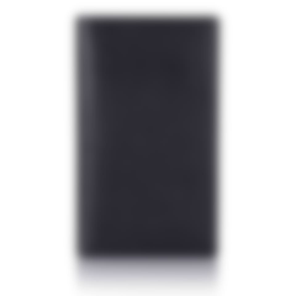Black Saffiano leather breast wallet