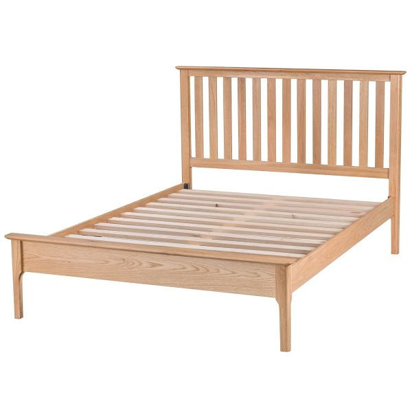 "Edgeworth 4'6"" bed frame"