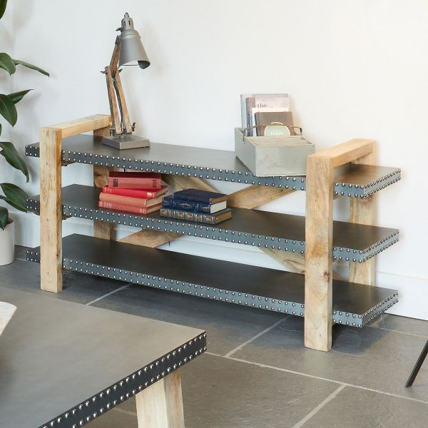 Kuba Low Bookcase
