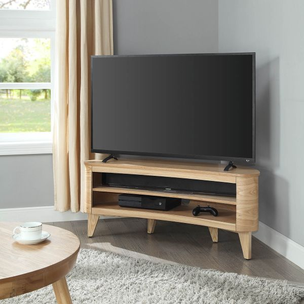 San Francisco light ash TV stand