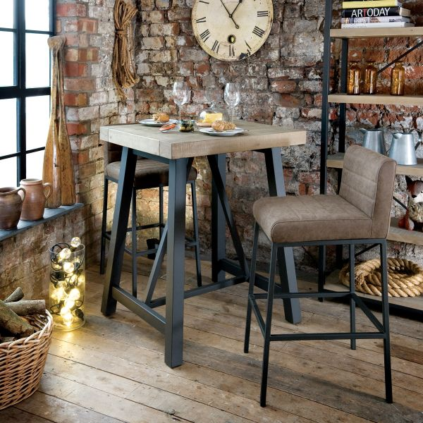 Hulstone Industrial Bar Table