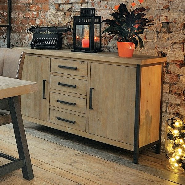 Hulstone Industrial Large Sideboard