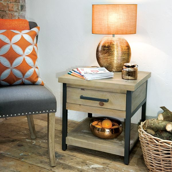 Hulstone Industrial Side Table