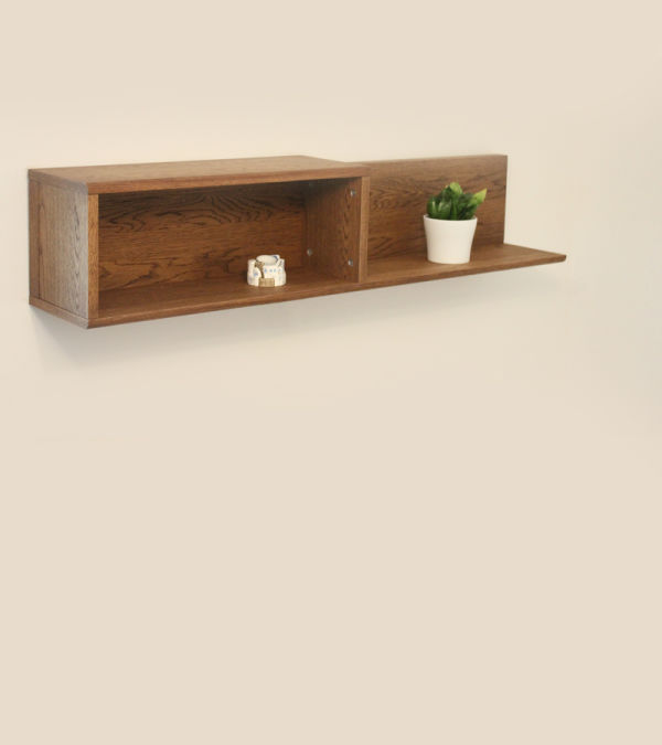 Olten Oak Wall Shelf