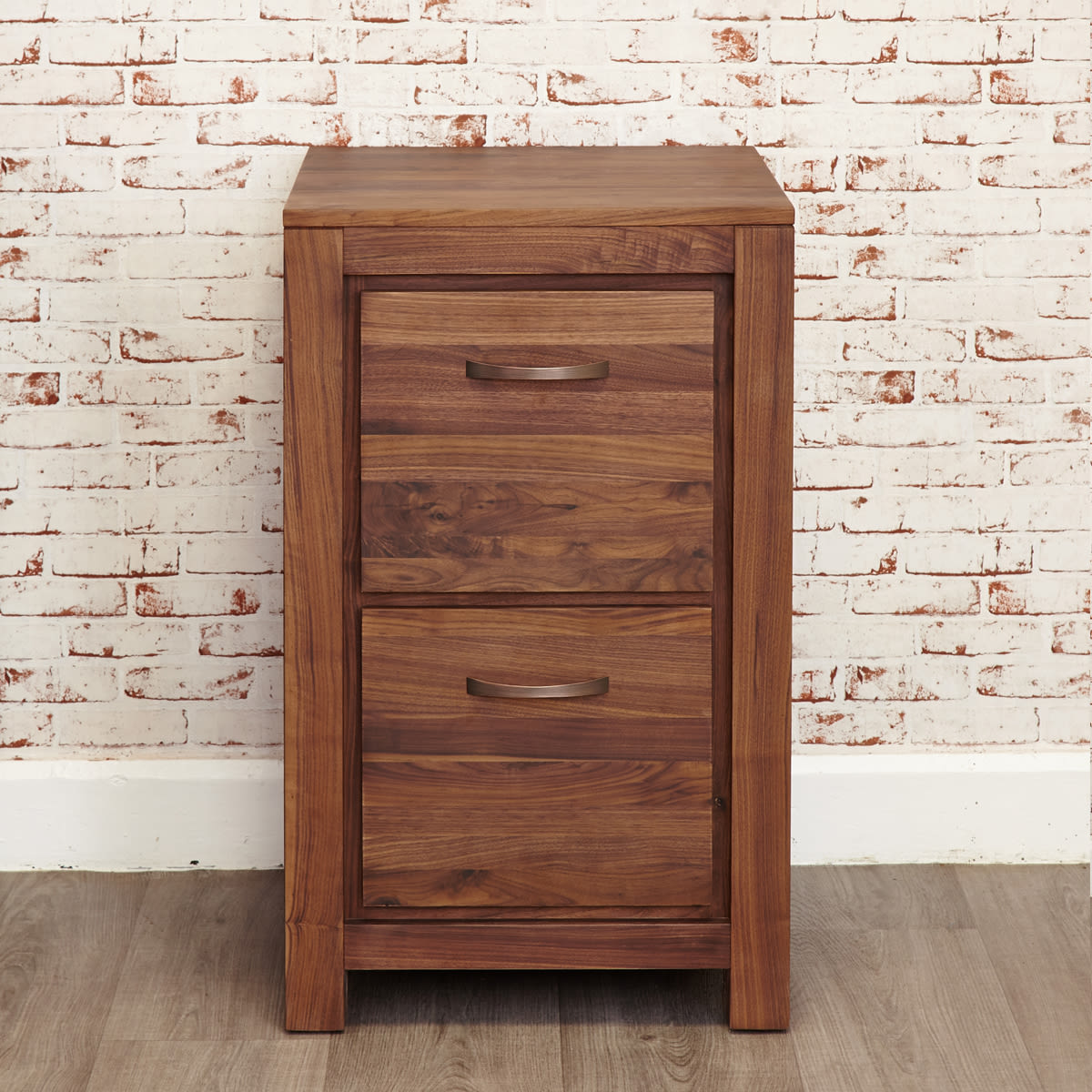 Mayan Walnut Two Drawer Filing Cabinet Was 163 480 00 Now 163