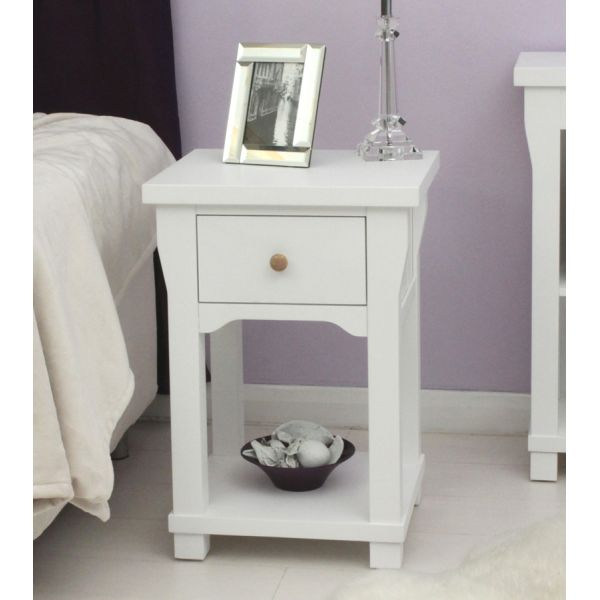Vermont One Drawer Lamp Table