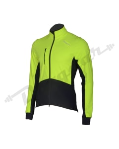 Cycling Jackets-Black / Hi-Viz Green-2X-Large