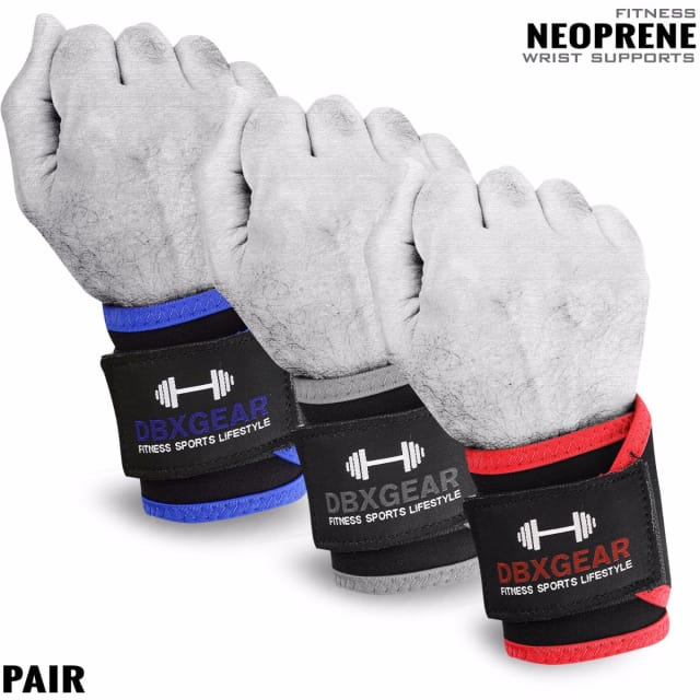 Weightlifting Neoprene Wrist Support with Bandage
