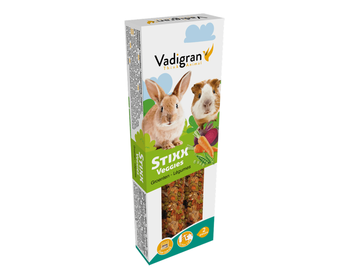 Snack StixX rabbit & guinea pig Veggies
