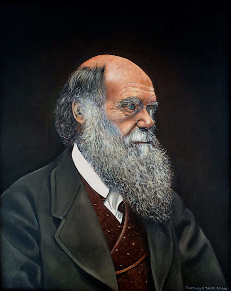 Portrait of Charels Darwin