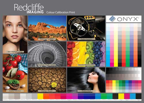 Colour Calibration Print File