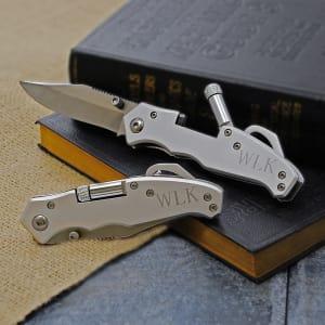 Pocket Knife with Light