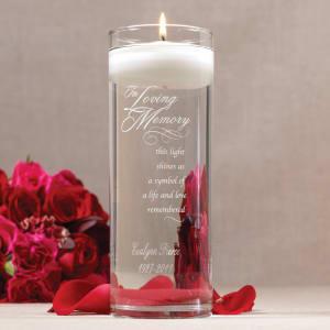 In Loving Memory Memorial Cylinder