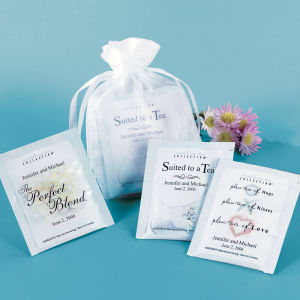 Plen-Tea of Hugs Tea Wedding Favor