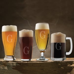 Personalized Craft Brew 4-Piece Assorted Tasting Set
