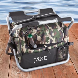 Personalized Camo Seat Beverage Cooler