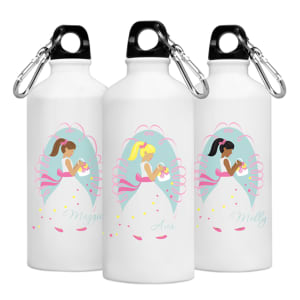 Personalized Flower Girl Water Bottle