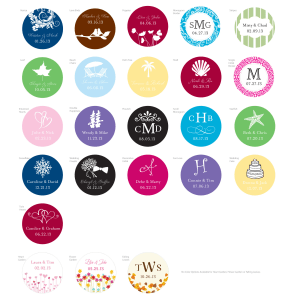 Personalized Labels, sheets of 48
