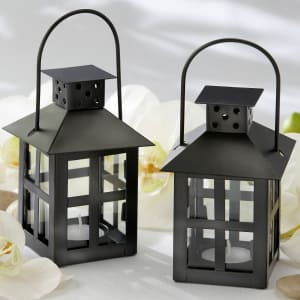 Luminous Black Mini-Lantern