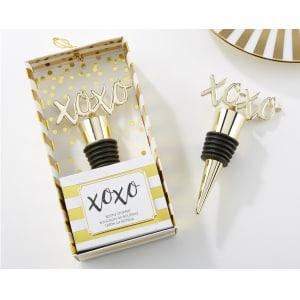XOXO Gold Bottle Stopper