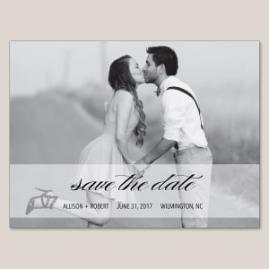 Adore Amor Save the Date Magnet