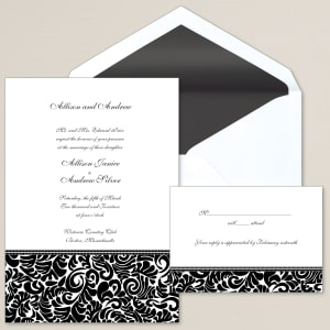 Free samples wedding invitations exclusively weddings at last wedding invitation stopboris Choice Image