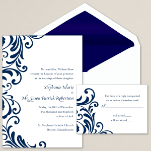 Ever After Wedding Invitation