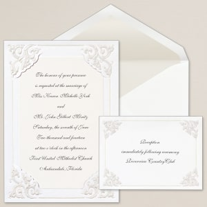 Dynasty Corners Wedding Invitation