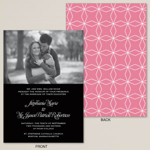 Love Connection Wedding Invitation