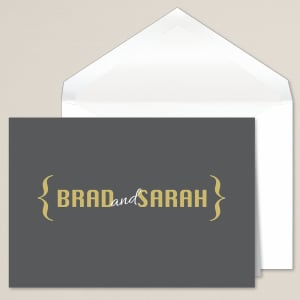 Boldly Stated Thank You Note
