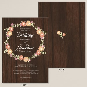 Beloved Wedding Invitation