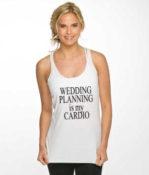 Wedding Cardio Tank