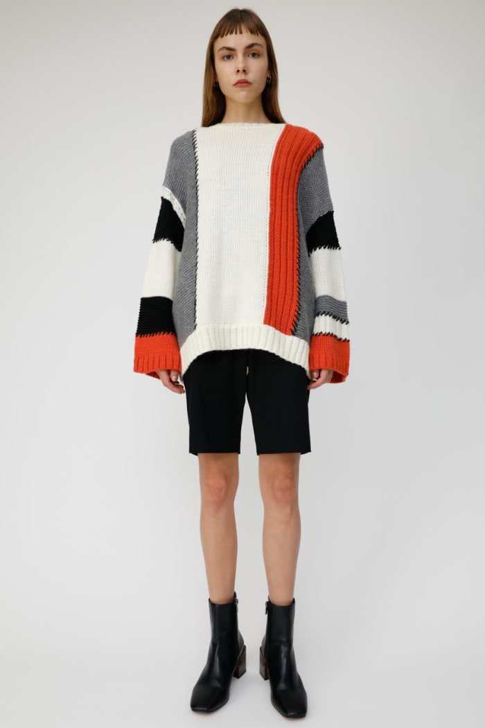 COLOR PATCH WORK KNIT