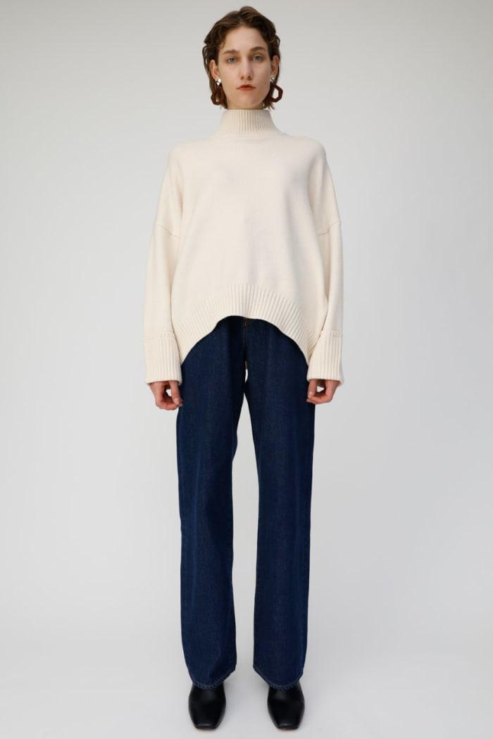 DROP SHOULDER knit
