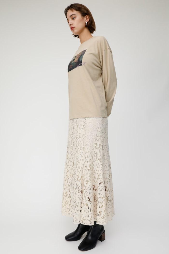 LACE LONG skirt