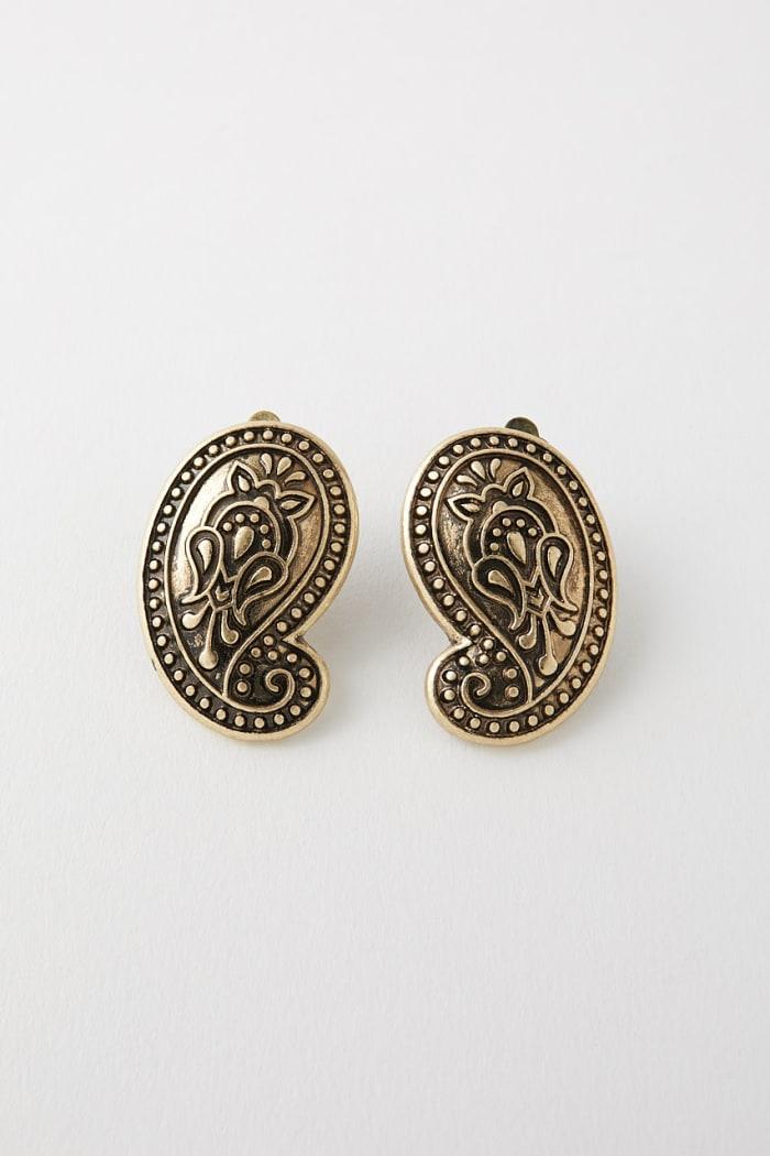 PAISLEY MOTIF earrings