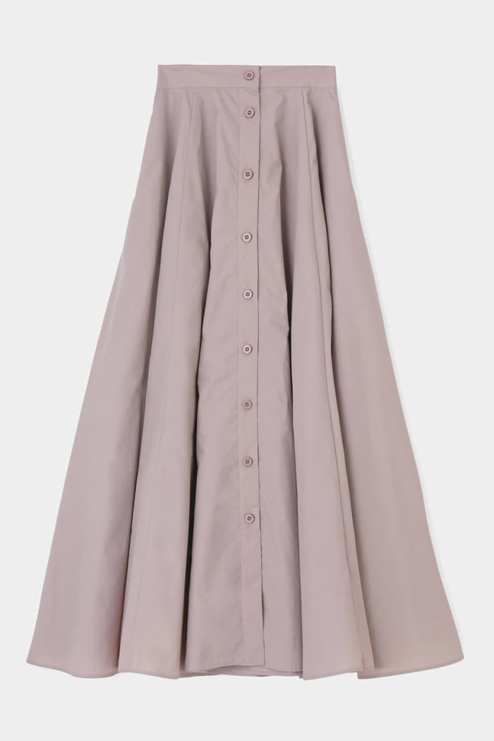 TAFFTA FLARE skirt