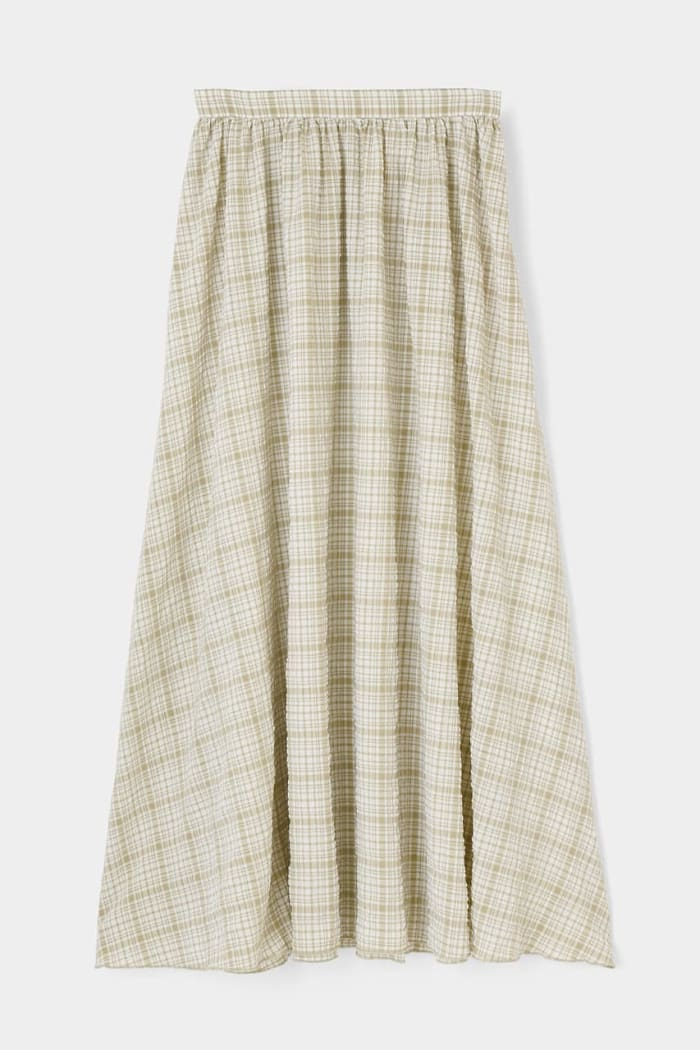 SUCKER CHECK skirt