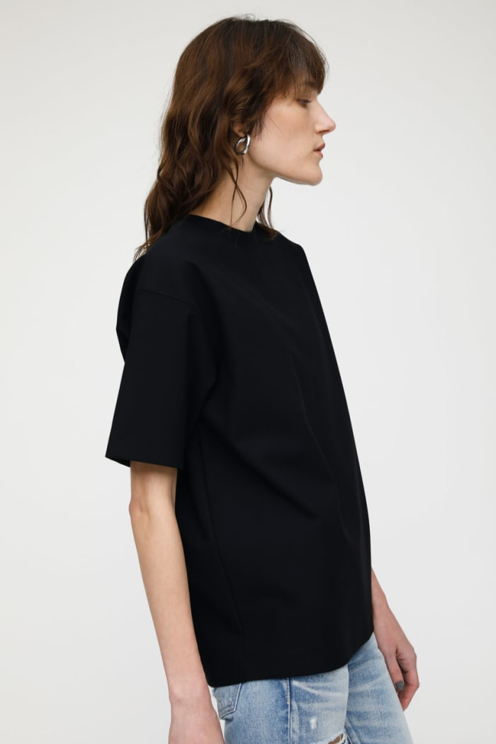 MV STRETCH PONTE OVERSIZED TEE
