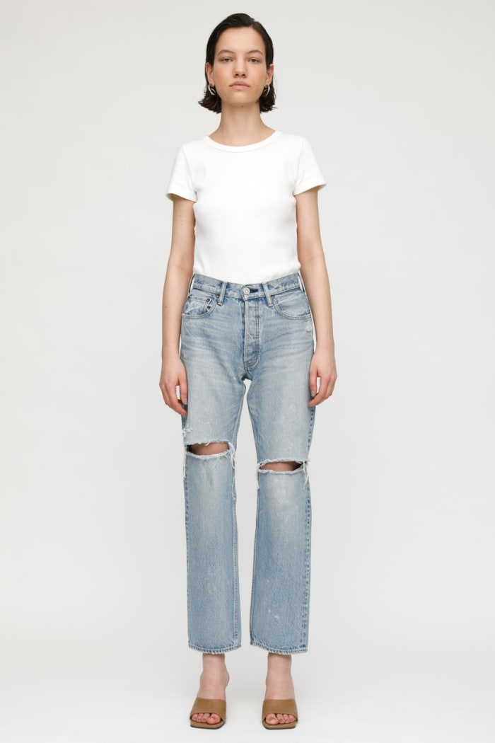 MV TEANECK WIDE STRAIGHT JEANS