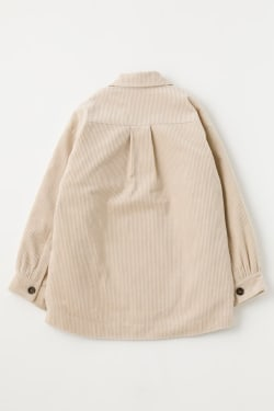 CORDUROY PADDING shirt