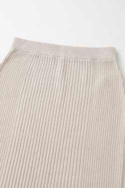 RIB KNITLONG skirt